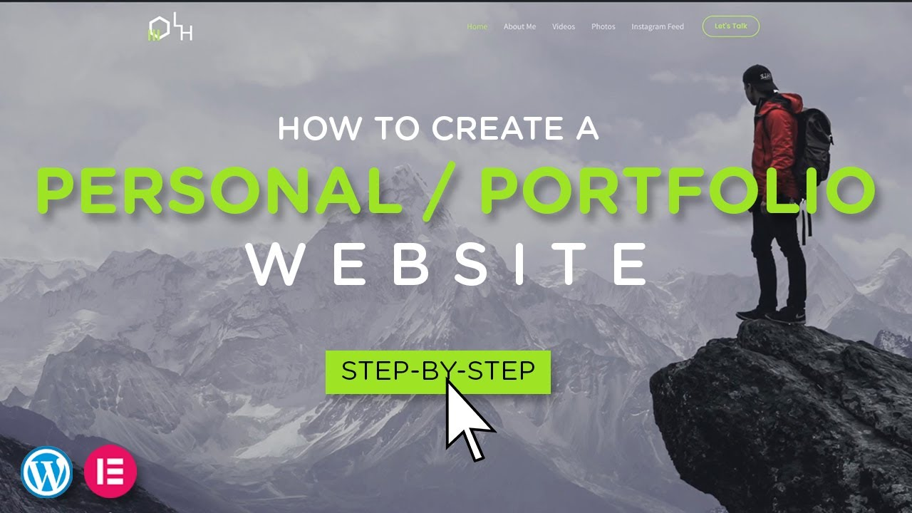 How to Create a Personal / Portfolio Website | 2021 Step-By-Step Guide!