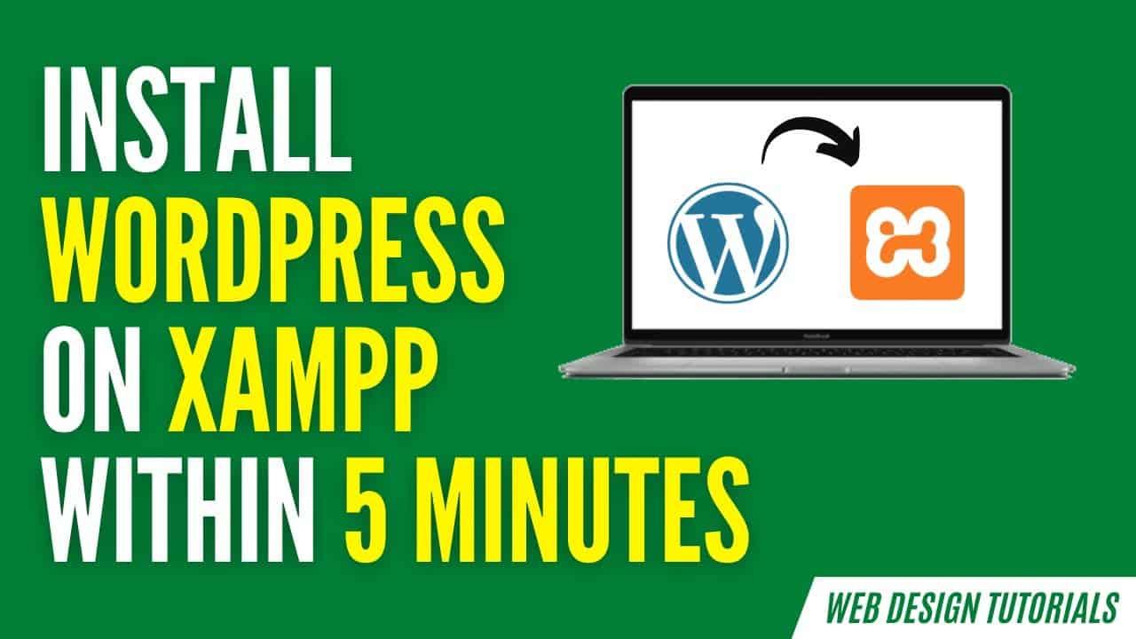 Install WordPress on XAMPP | Use WordPress on Localhost (For Beginners)