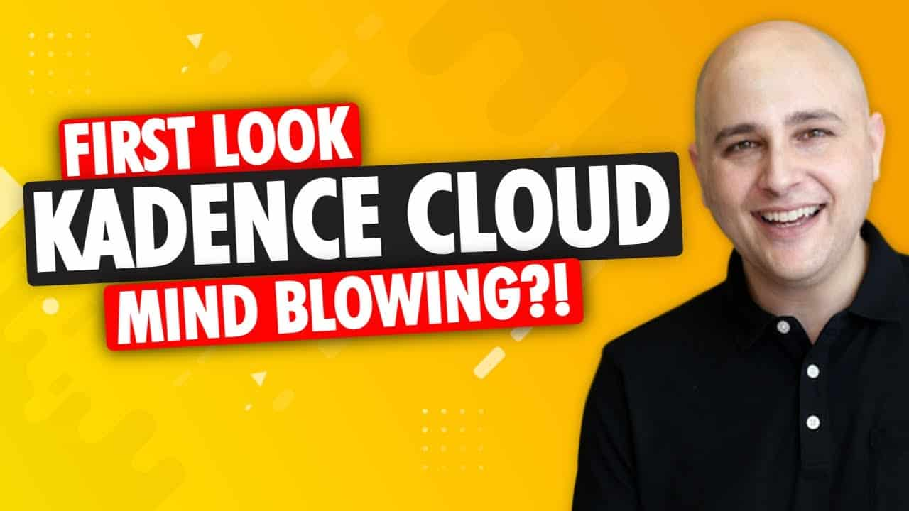 Introducing Kadence Cloud - Building WordPress Websites Will Never Be The Same Again