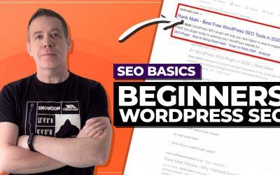 WordPress For Beginners – WordPress SEO 2020 | Rank Math SEO Plugin Tutorial
