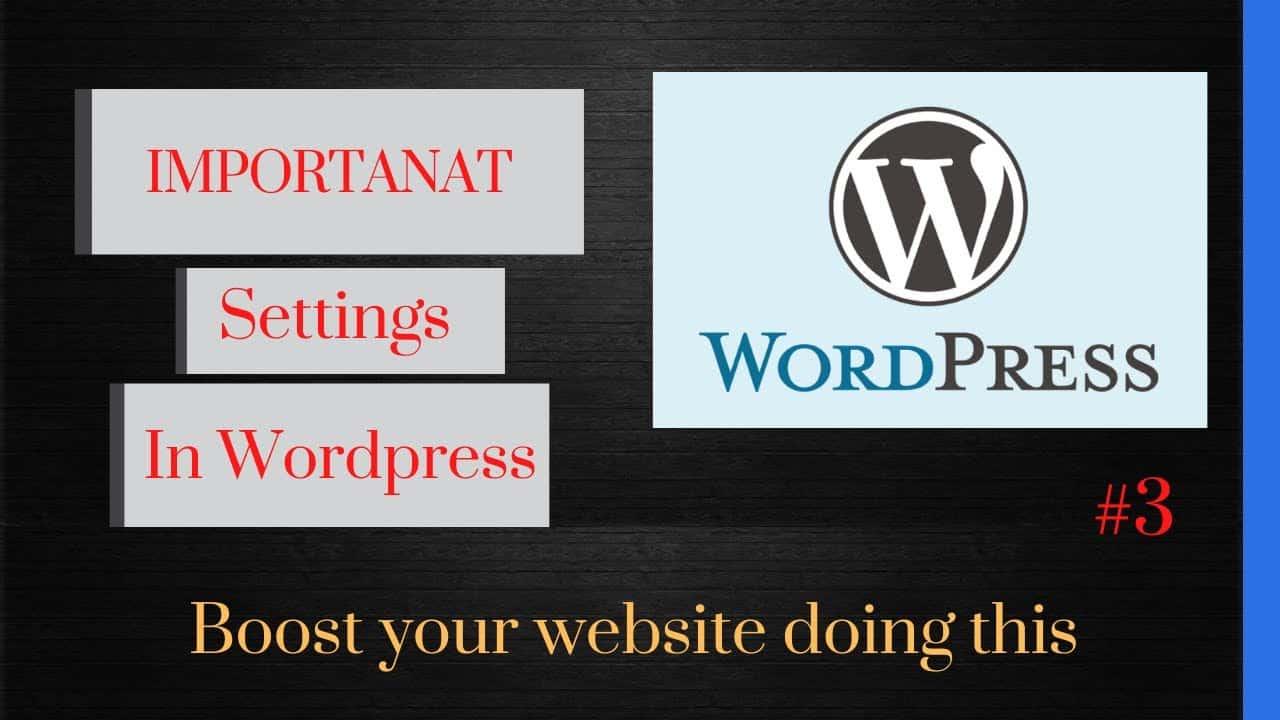 what things to do after installing wordpress   wordpress tutorial   speed up wordpress