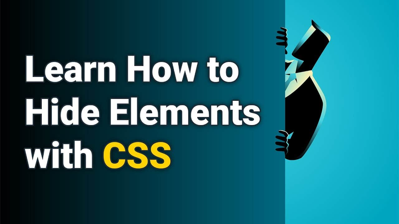 How to Hide Elements with CSS on Your Website
