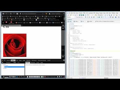 draw images in html and css
