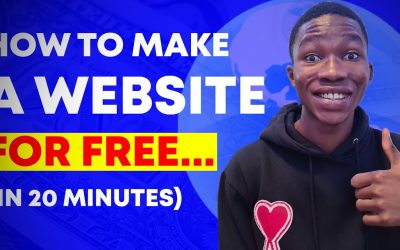 Do It Yourself – Tutorials – How To Make A Website For Free In 20 Minutes (FULL TUTORIAL)
