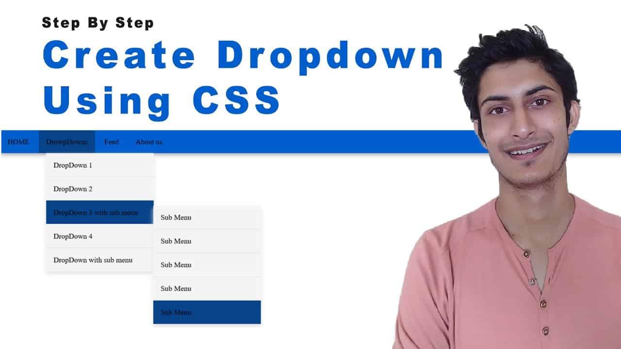 Create Dropdown Menu Using CSS
