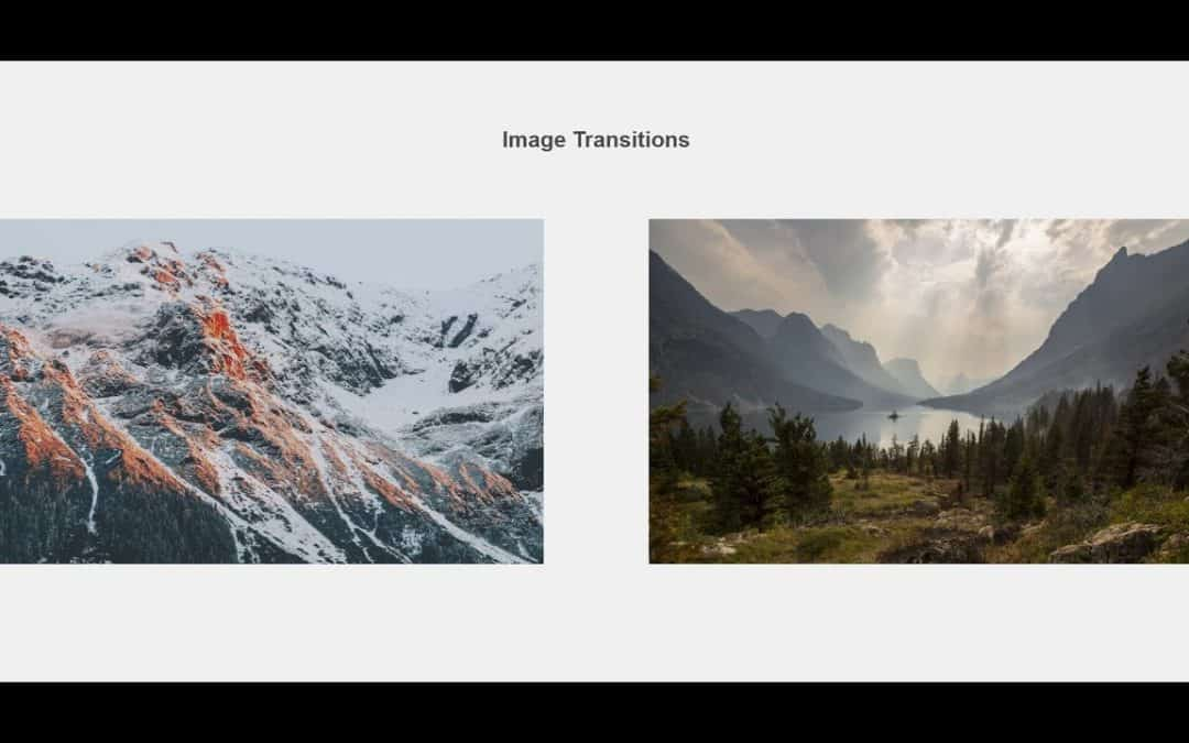 Image Animations Tutorial with HTML CSS
