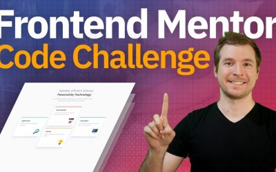 Frontend Mentor Challenge | Coding Challenge with HTML & CSS