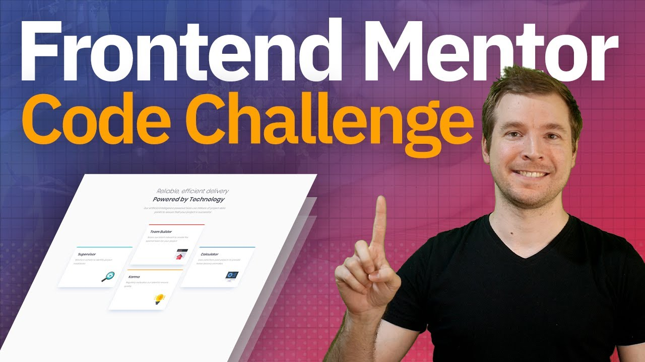 Frontend Mentor Challenge   Coding Challenge with HTML & CSS
