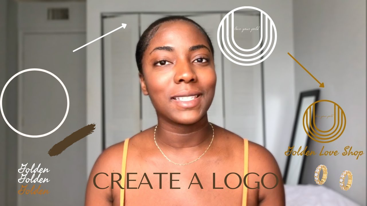 How to Create a logo for your jewelry Business   Full tutorial