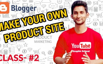 Do It Yourself – Tutorials – How to Create a Blog | Make Your Own Product/Portfolio Website – Graphic Product Marketing Class #2