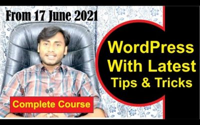 Do It Yourself – Tutorials – How To Make a WordPress Website – 2021 | Complete WordPress Tutorial for Beginners (Step by Step)