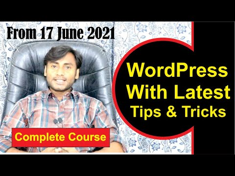 How To Make a WordPress Website - 2021 | Complete WordPress Tutorial for Beginners (Step by Step)