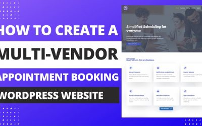 Do It Yourself – Tutorials – How To Create A Multi-Vendor Appointment Booking Website With WordPress | Booknetic Saas Tutorial.