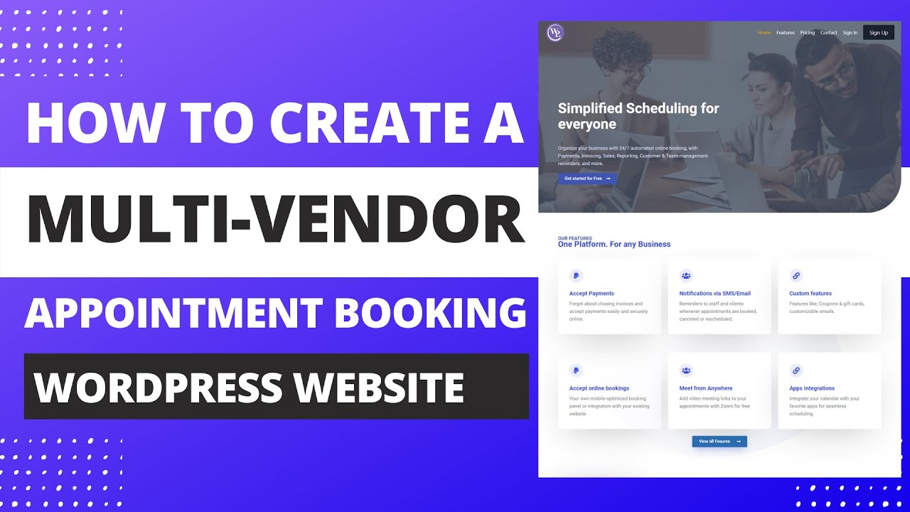 How To Create A Multi-Vendor Appointment Booking Website With WordPress   Booknetic Saas Tutorial.