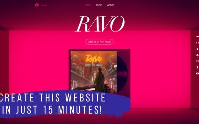 Do It Yourself – Tutorials – How to Create a Website for Musicians in just 15 minutes!
