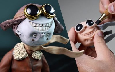 Do It Yourself – Tutorials – Making Up My Own HERO Character III – Meet Mr. Smile from The Mutant Universe Polymer Clay Sculpture