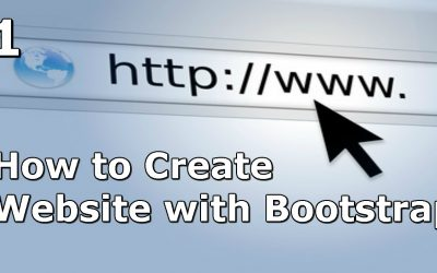 How to Create a Website with Bootstrap – Setup and Tricks – Part 1