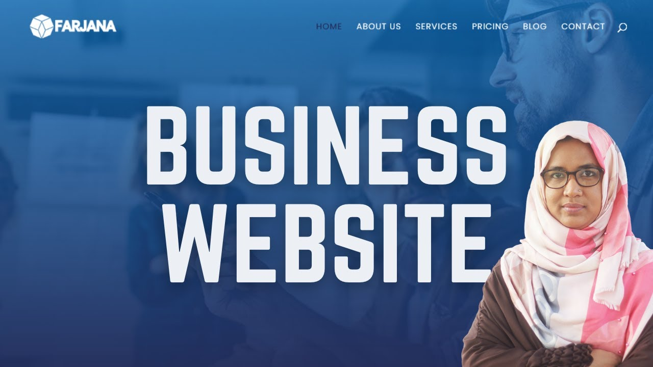 How to make a business website using wordpress | Step by step