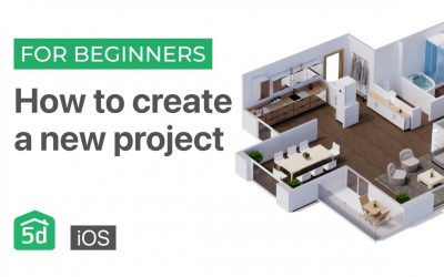 Do It Yourself – Tutorials – How to create a new project on the iOS | Mobile and Tablet | Planner 5d tutorial for beginners iOS