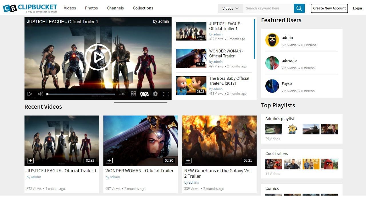 How To Make A Website Like YouTube | Create A Video Sharing Website