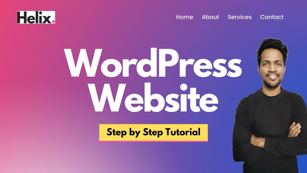 How to Make a WordPress Website with Elementor | Step by Step WordPress Website Tutorial