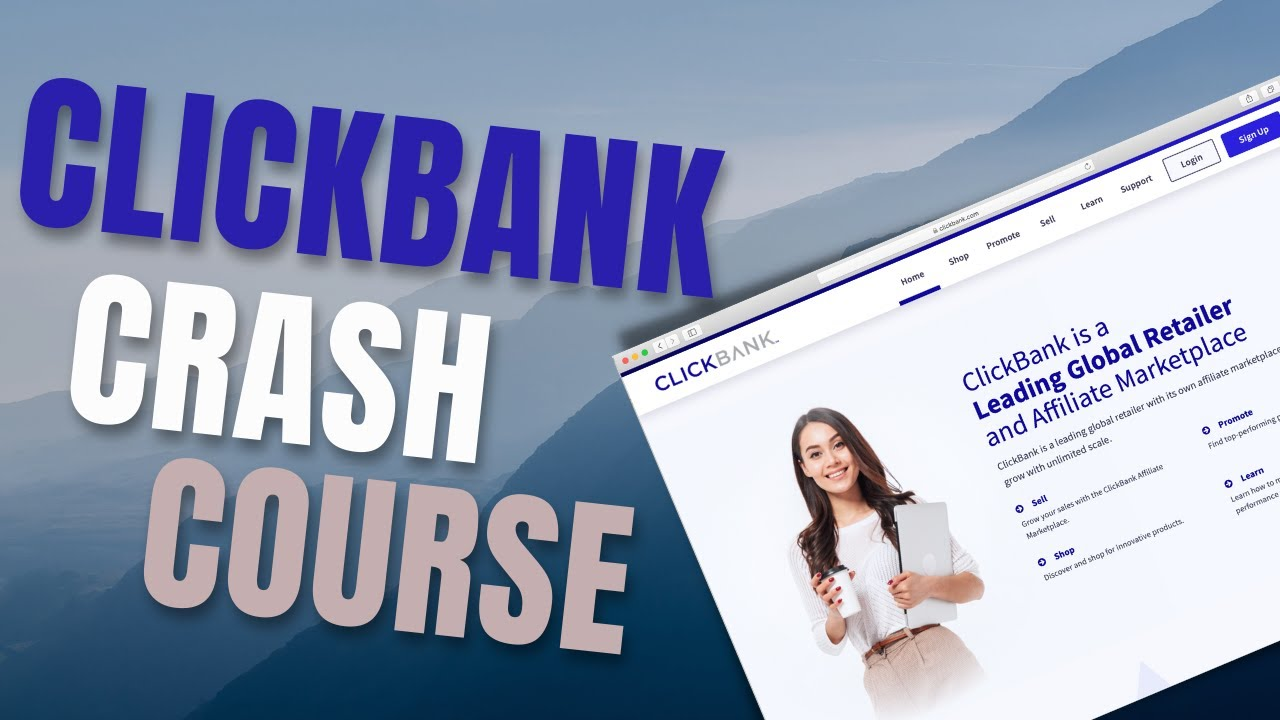 How To Make Your First Profit With ClickBank (Crash Course)