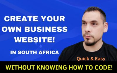 Do It Yourself – Tutorials – How to create your own business website in South Africa