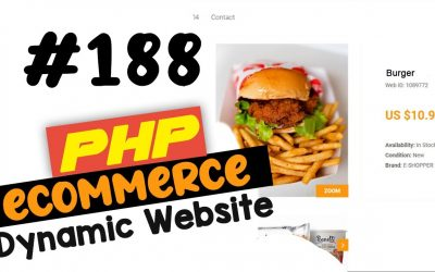 Do It Yourself – Tutorials – #188 PHP Ecommerce website development   Adding a google map   MVC OOP – Quick programming