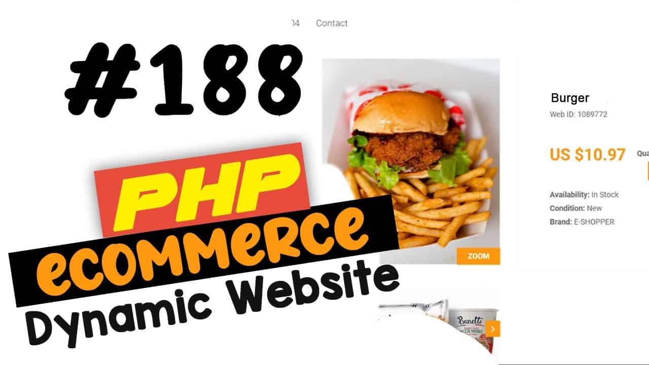 #188 PHP Ecommerce website development   Adding a google map   MVC OOP - Quick programming