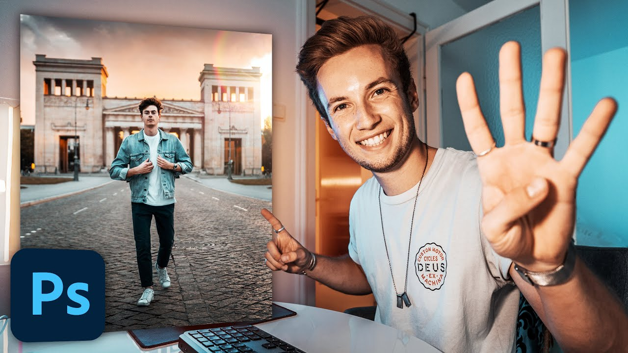 4 Steps To Make Your PHOTOS LOOK PERFECT! | Photoshop Tutorial