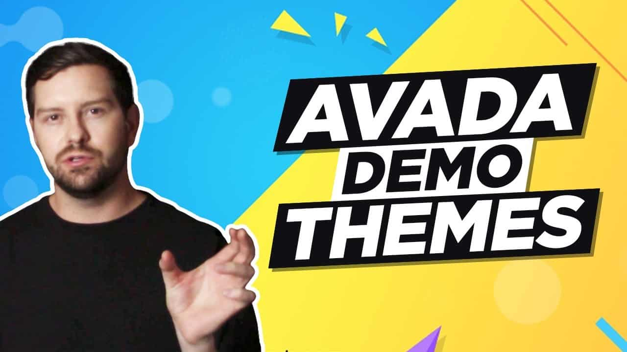 Avada Demo Themes - Quickly Build A Beautiful Website