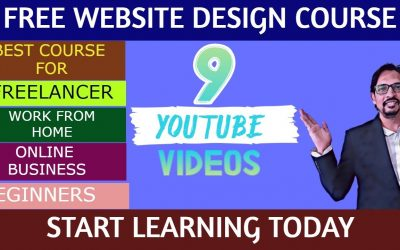Do It Yourself – Tutorials – Best Free Web Design Course 2021 | Freelance web designer | Work From Home