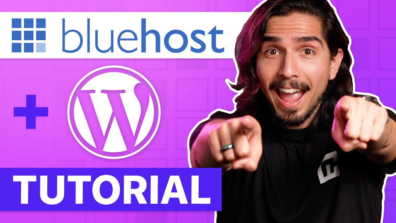 Bluehost WordPress Tutorial - How to Build A Website For Beginners   CyberNews