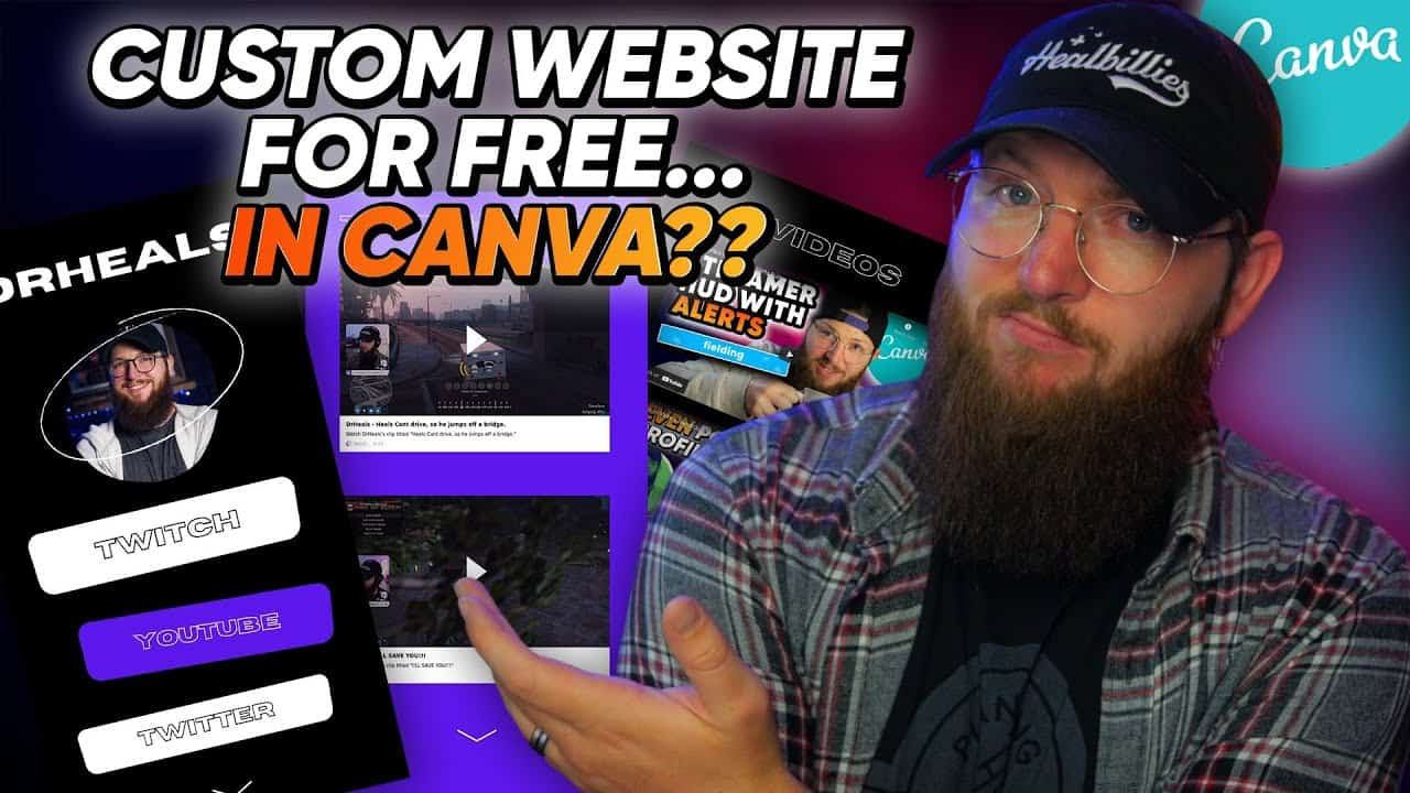 Build Your Free Website in Canva! [Canva Tutorial]