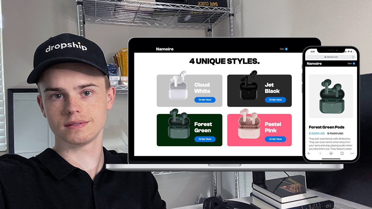 Building Complete Webflow Dropshipping Website (Tutorial)