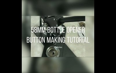 Do It Yourself – Tutorials – ChiButtons How to make a 58mm Round Bottle Opener Button with machine B400