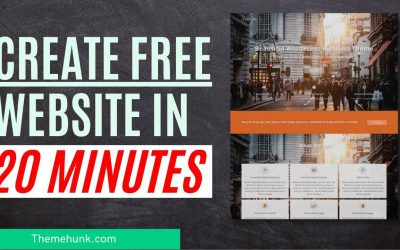 Do It Yourself – Tutorials – Create a free website in 20 minutes | How to create a free website.