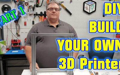 Do It Yourself – Tutorials – DIY 3D Printer Build Your Own  – Part 1 The Frame (Step By Step Guide)