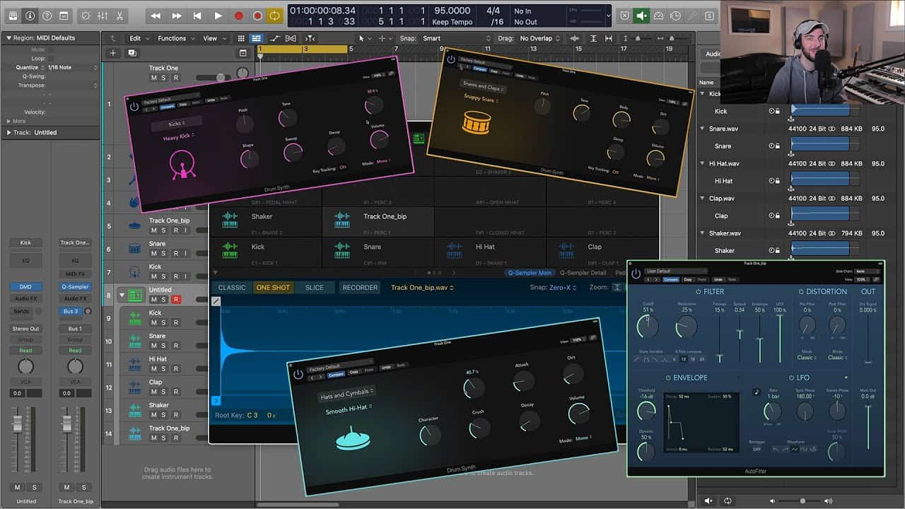 Design Your Own Drum Samples and Kits (Logic Pro X 10.5)