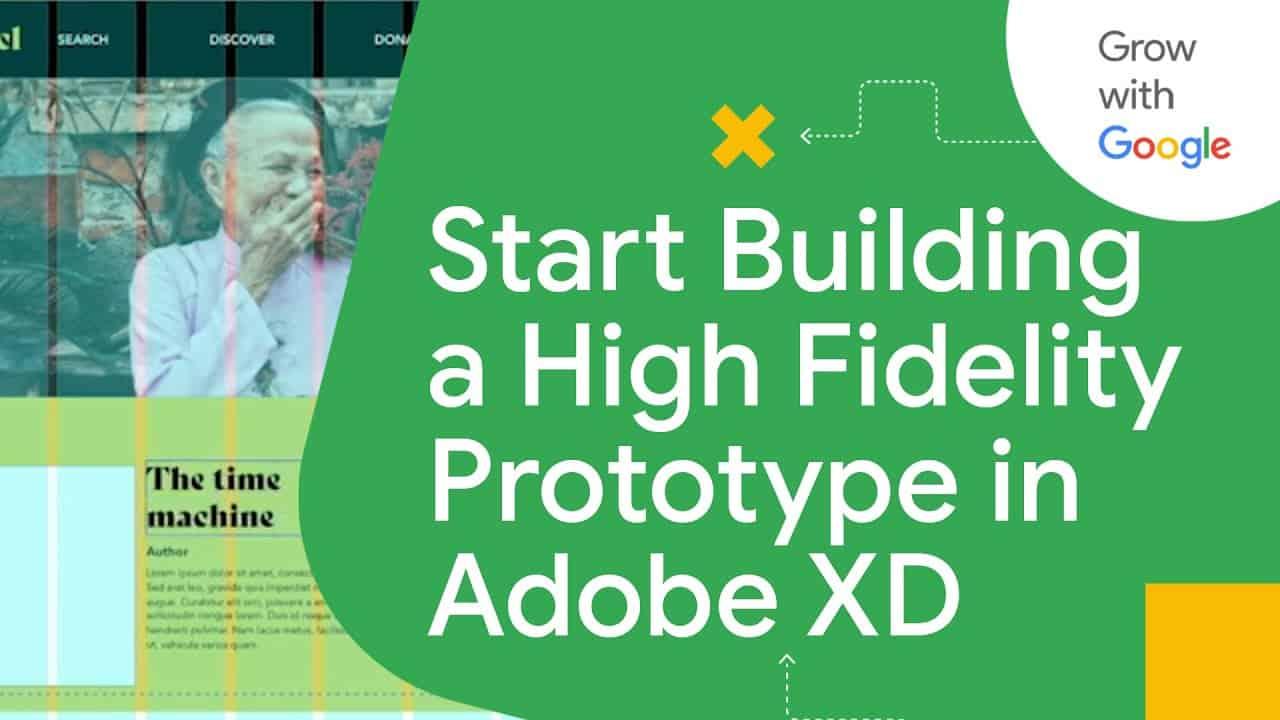 Design a Responsive Website in Adobe XD Tutorial | Google UX Design Certificate