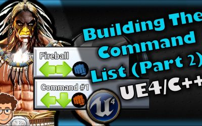 Do It Yourself – Tutorials – Dynamic Move List (Part 2) | How To Make YOUR OWN Fighting Game | UE4 and C++ Tutorial, Part 71