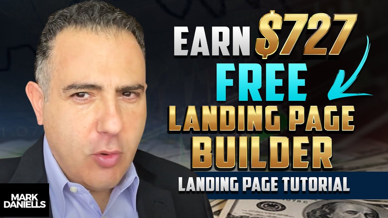 Earn $727 With This FREE Landing Page Builder (Landing Page Tutorial)