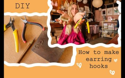 Do It Yourself – Tutorials – Easy Tutorial – How to Make your own earring hooks