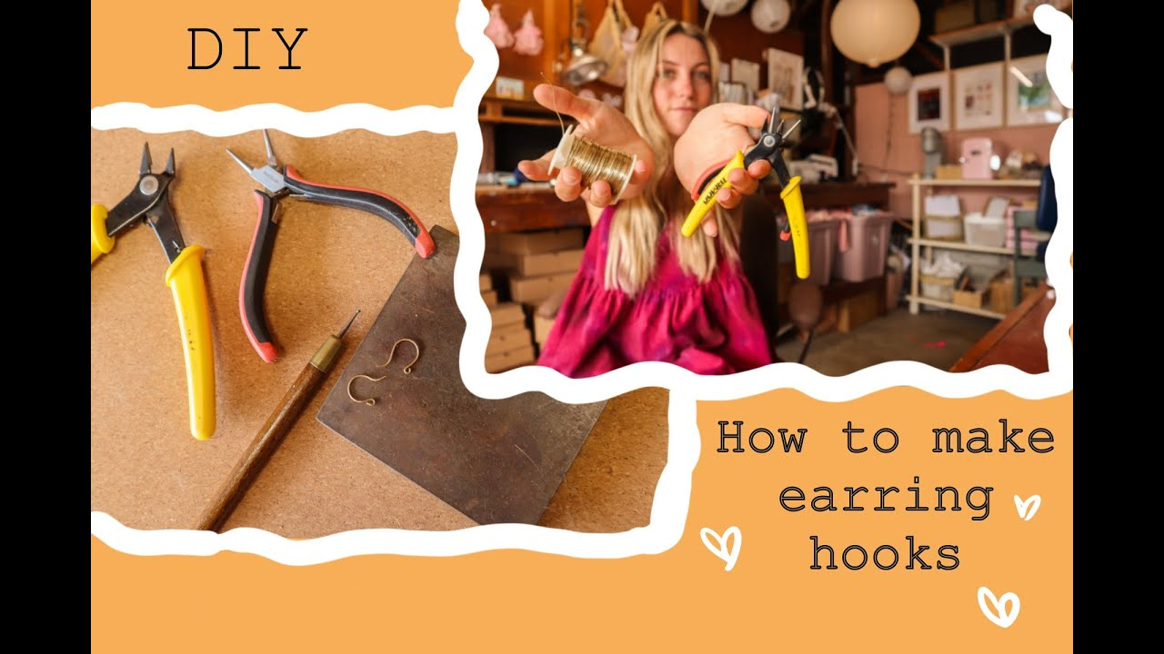 Easy Tutorial - How to Make your own earring hooks