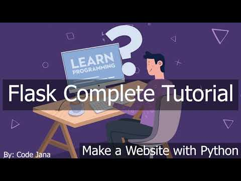 Flask Mega Tutorial || 2021 Complete Python Flask Tutorial || How to Make Website with Python