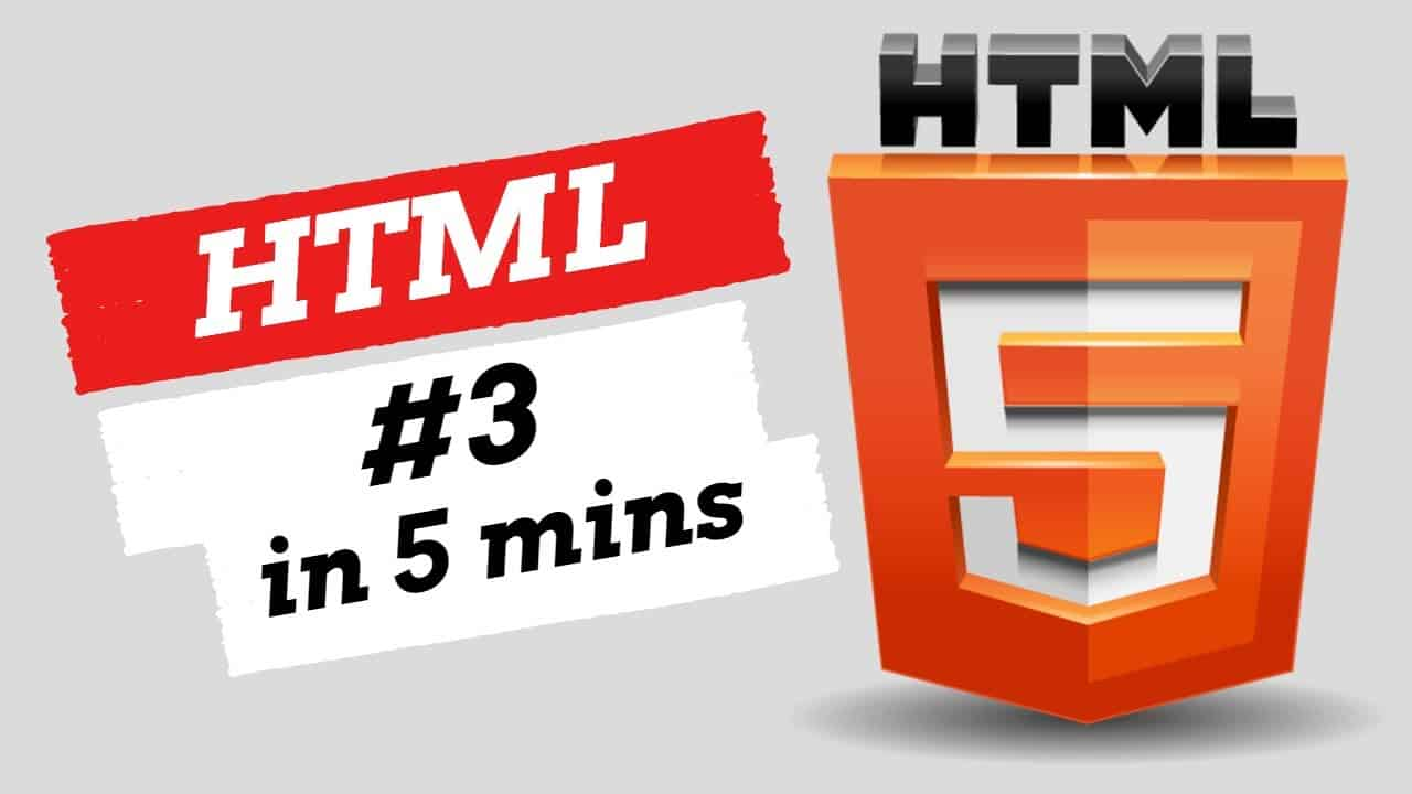 HTML part 3 || Learn in 5 minutes || Easy tutorial || Explaining step by step