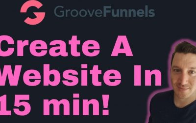 Do It Yourself – Tutorials – How To Build A Website For Free Under 15 Minutes – Groovefunnnels Demo