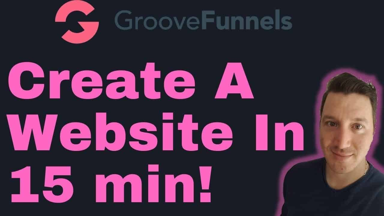 How To Build A Website For Free Under 15 Minutes - Groovefunnnels Demo