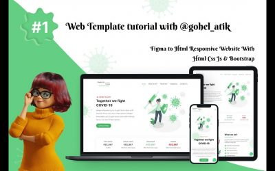 Do It Yourself – Tutorials – How To Make Website Using HTML & CSS Step By Step || Modern Website Design Tutorial for beginners