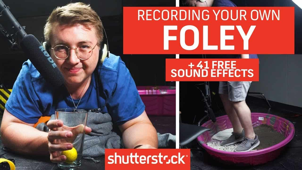 How To Make Your Own Foley + 41 FREE SOUND EFFECTS | Filmmaking Tips